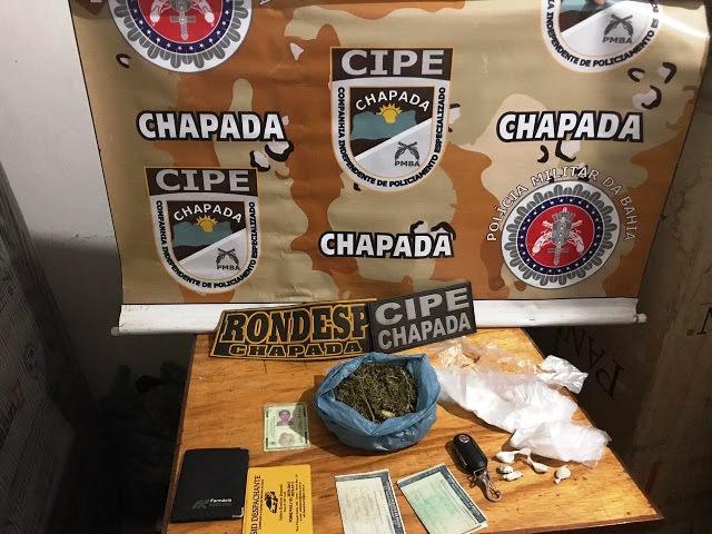 Chapada: Polícia desarticula quadrilha de tráfico de drogas