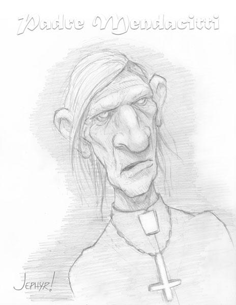 """Padre Mendacitti"" - Copyright 2016 - Jephyr!"