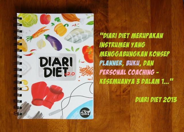 diari diet, cara diet, cara kurangkan berat badan