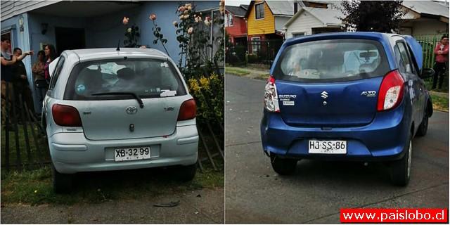 Insólito accidente en Osorno
