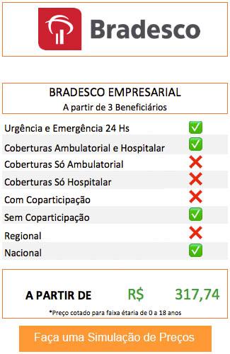 Plano de Saúde Empresarial Bradesco
