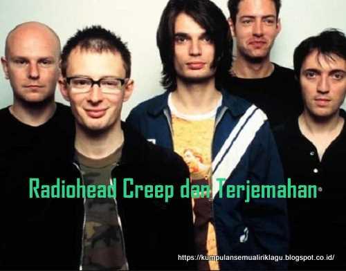 Radiohead Creep dan Terjemahan