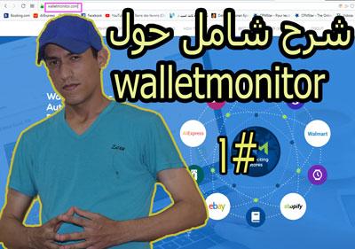 سلسلة العمل على الأنترنيت العدد 10: شرح شامل حول walletmonitor الدرس الأول