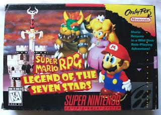 Super Mario RPG - Legend Of The Seven Stars - Caja delante
