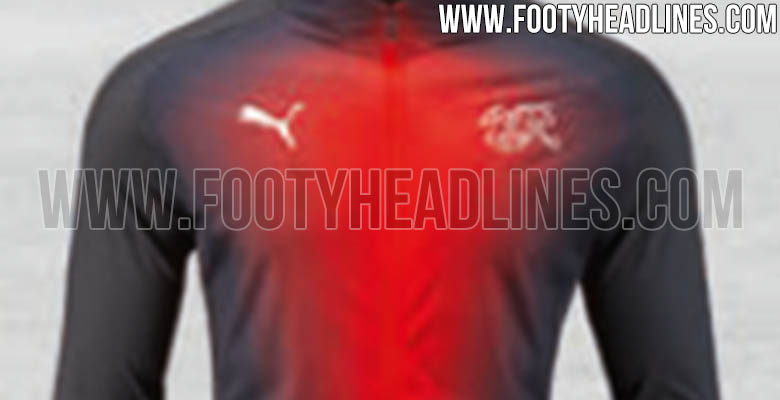 f936222fe Puma Switzerland 2018 World Cup Home Kit Info + Shorts + Socks + Anthem  Jacket Leaked