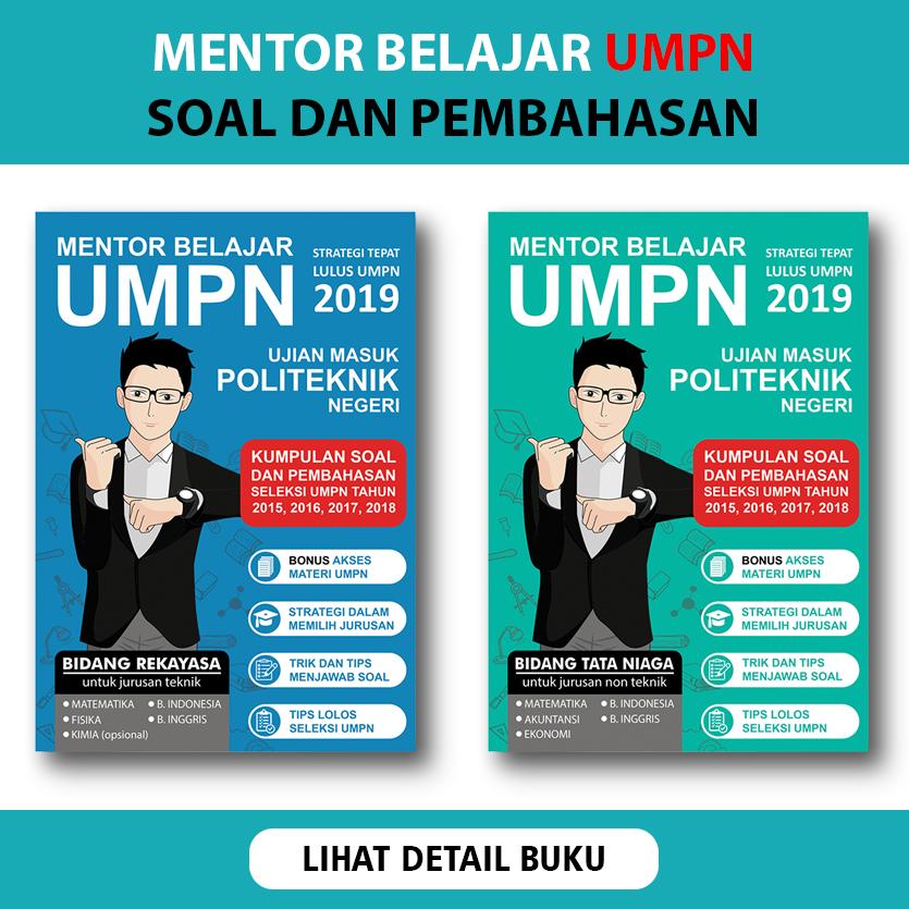 Buku Soal UMPN dan Pembahasannya | Buku Mentor Belajar UMPN