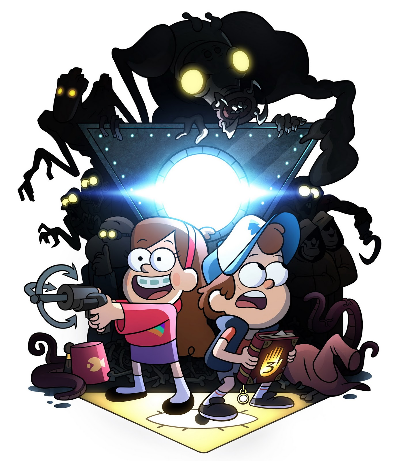 Gnome Garden: Gravity Falls: Legend Of The Gnome Gemulets Uncovered For