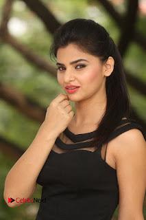 Actress Kamna Ranwat  Pictures in Black Short Dress at Selfie Raja Interview  0165