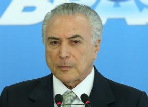Michel Temer não vai processar Machado: 'Não falo para baixo'