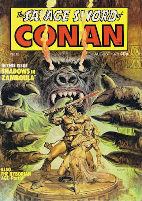Marvel UK, Savage Sword of Conan #10