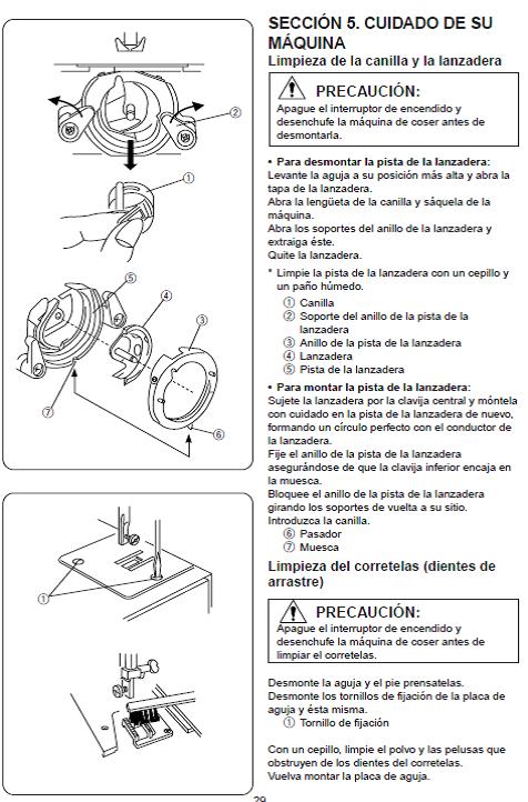Con las Manos en la Aguja: Mantenimiento de la Máquina de Coser