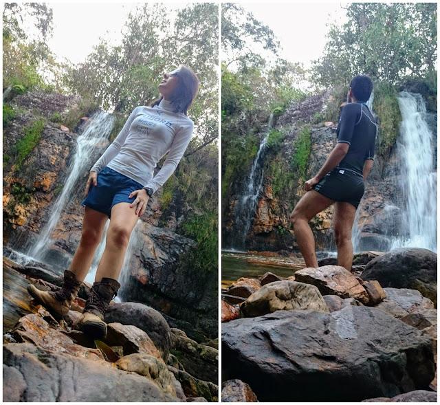 Cachoeira dos Cristais, em Alto Paraíso, Goiás.