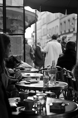 A Parisian Cafe Terrace