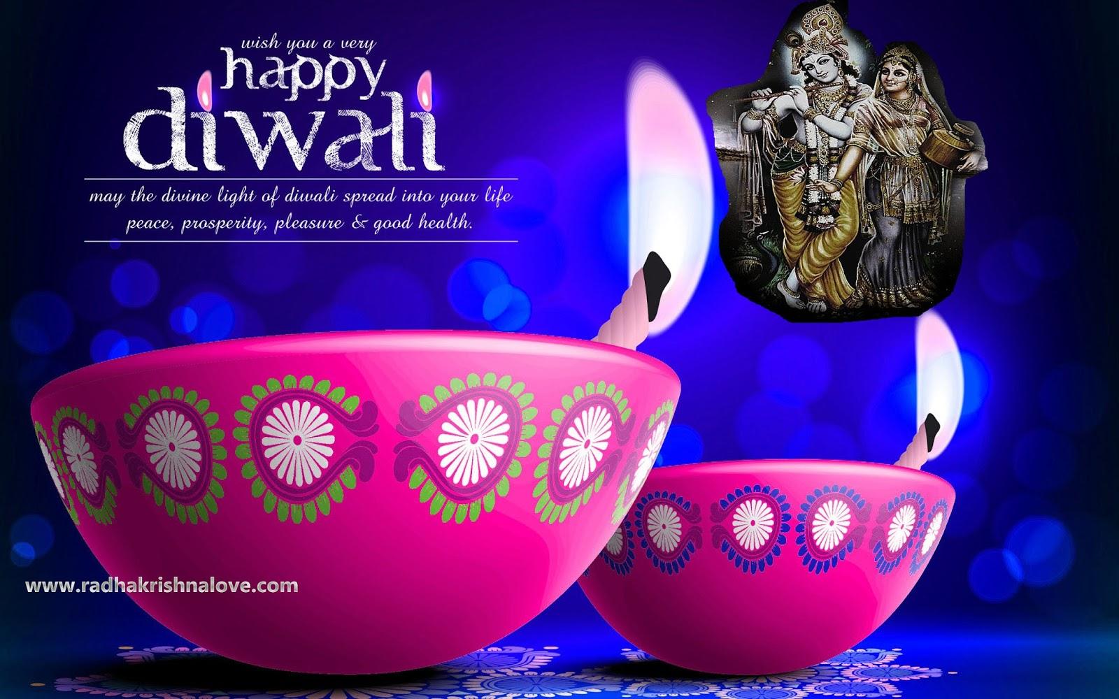Diwali Radha Krishna