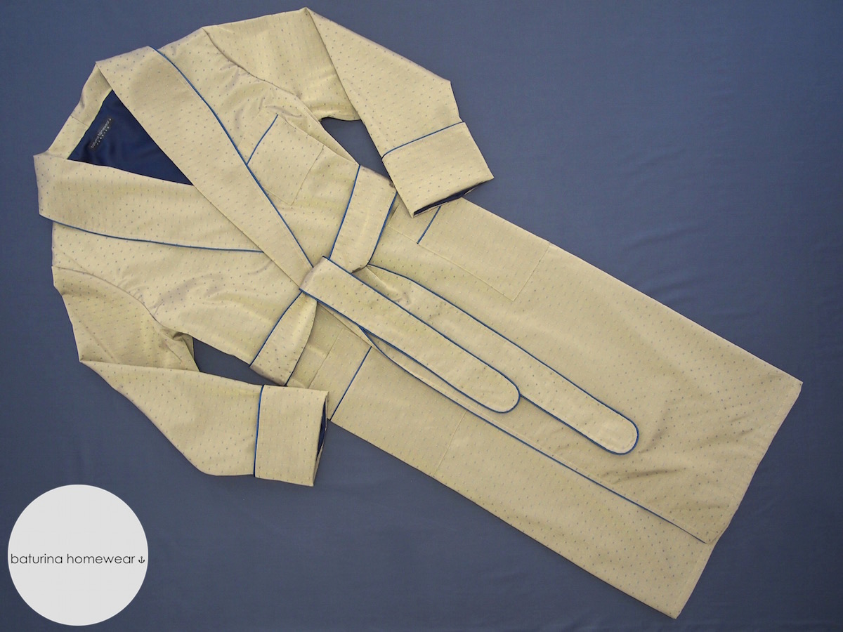 Men\'s Silk, Cotton and Velvet Dressing Gowns - New Arrivals in Stock
