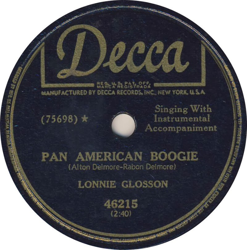 FROM THE VAULTS: Lonnie Glosson Born 14 February 1908