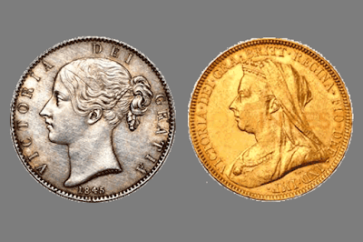 Monedas Reina Victoria