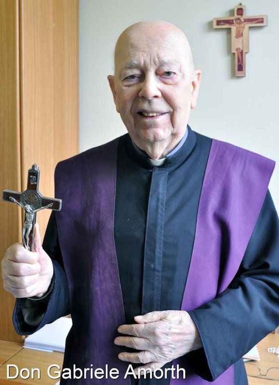 O Pe. Gabriele Amorth, exorcista da diocese de Roma