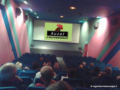 Auzat l'Auvergnat, cinéma le Lux Riom.