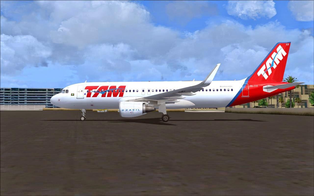 airbus a320 tam fsx