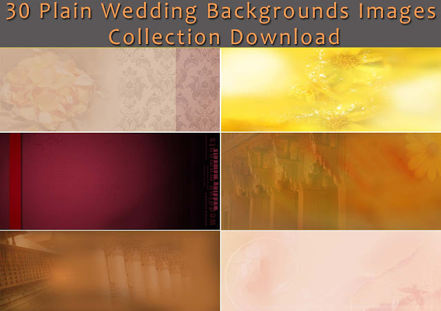 30 Plain Wedding Backgrounds