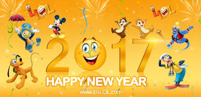 Happy new year 2017 DP Image