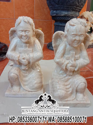 Patung Malaikat Kecil, Patung Malaikat Bersayap, Patung Malaikat