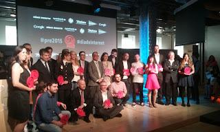 Ganadores de los Premios de Internet 2015 - Patrocina Fenix Directo