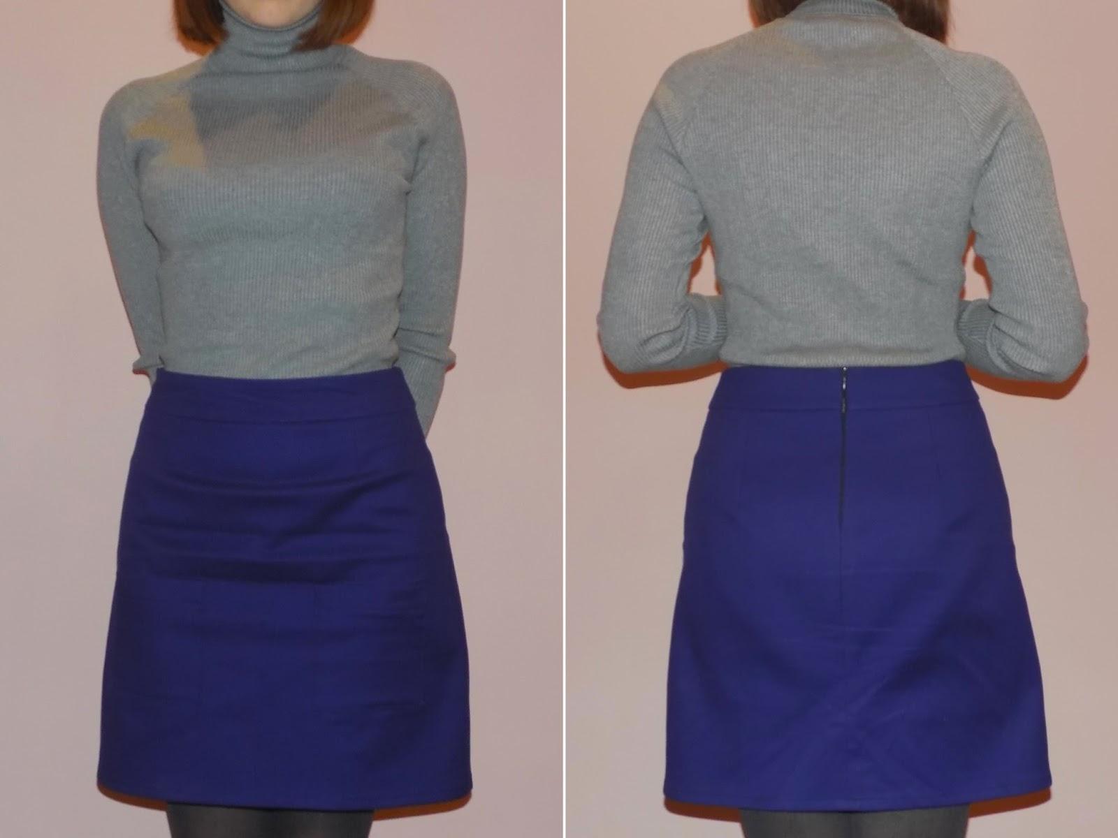 Проблема при шитье юбки