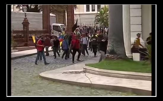VIDEO Asi asaltaron Asamblea Nacional de Venezuela y robaron a periodistas colectivos chavistas  ...