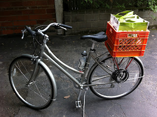 Commutercharli How To Attach A Milk Crate To Your Bike
