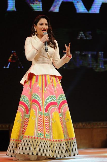 Actress Tamanna At Baahubali 2 Pre Release Event  HD Photos