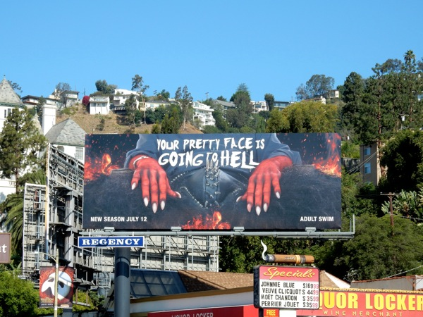 Your Pretty Face is Going to Hell season 2 billboard
