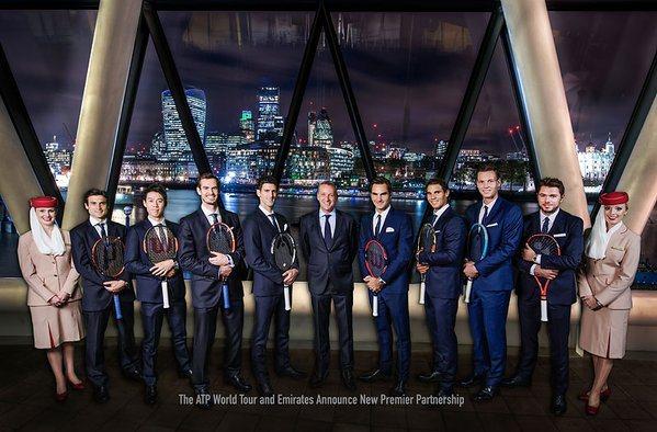 Emirates le da a la ATP el mayor acuerdo de su historia