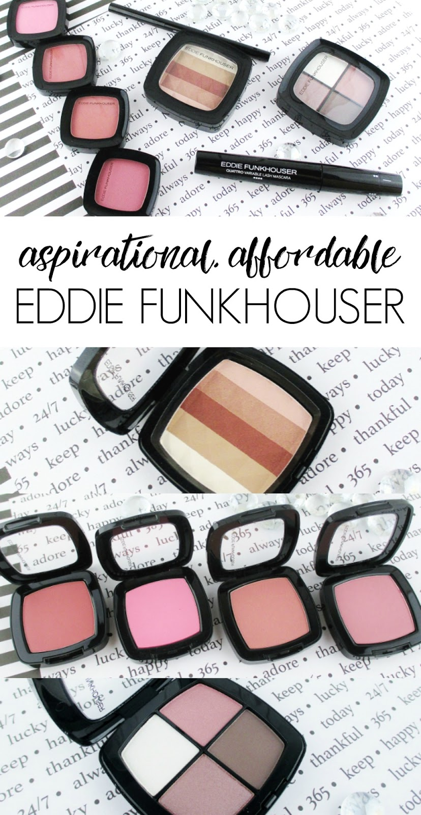 Eddie Funkhouser | Aspirational and Affordable Cosmetics Review