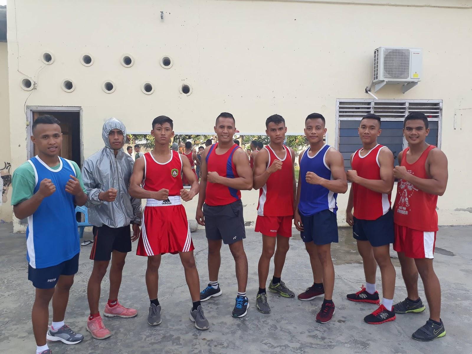 8 petinju andalan Kabupaten Asahan dari Pertina Asahan siap merebut juara umum pada Porwil 2018.