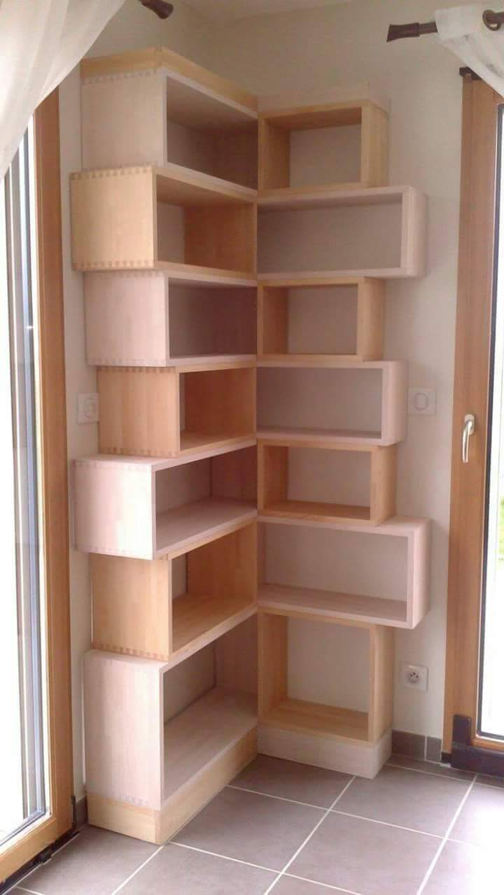 Contoh Desain Rak Dinding Cantik Kayu Minimalis - Foto ...