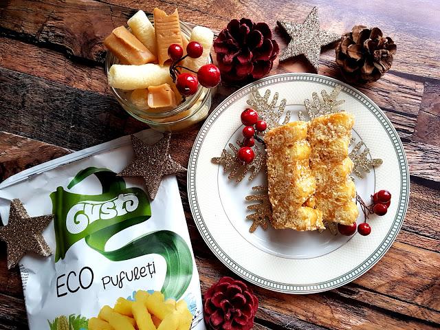 proste i szybkie ciasto na święta Bożego Narodzenia z chrupek kukurydzianych