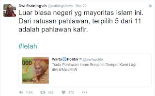 Dwi Estiningsih dilaporkan