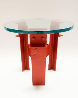 "Tea Table - Narrow Base with 20"" Table Top"