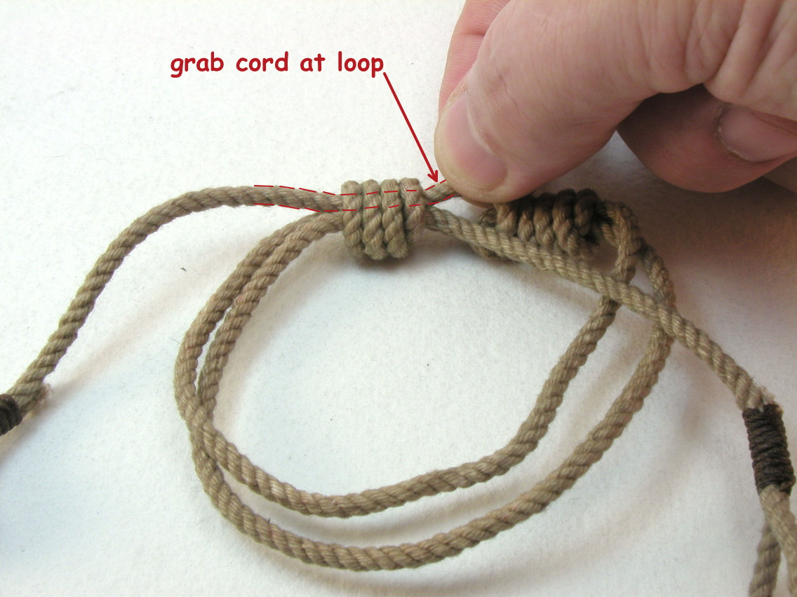 Diy Bracelets Tutorials Sliding Knot