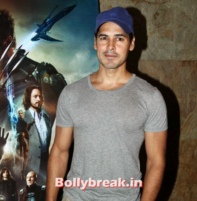 Dino Morea, Jacqueline Fernandez, Suzanne Roshan at Special Screening of X Men Days of Future Past