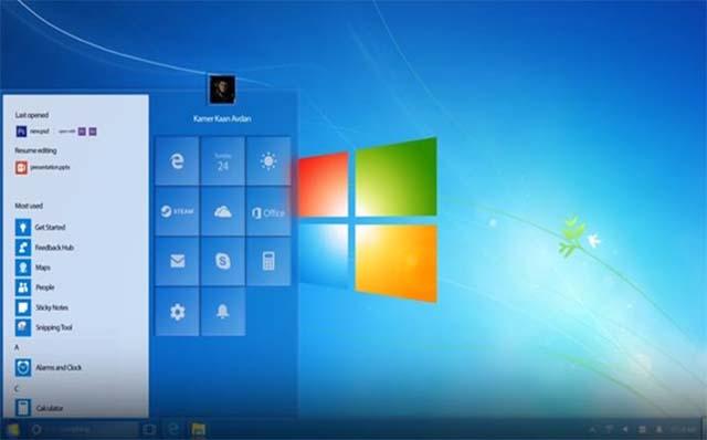 Konsep Bayangan Windows 7 Dengan Tampilan Interface Baru
