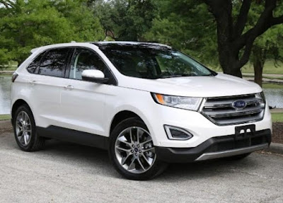 The Ford Edge styling is aggressive
