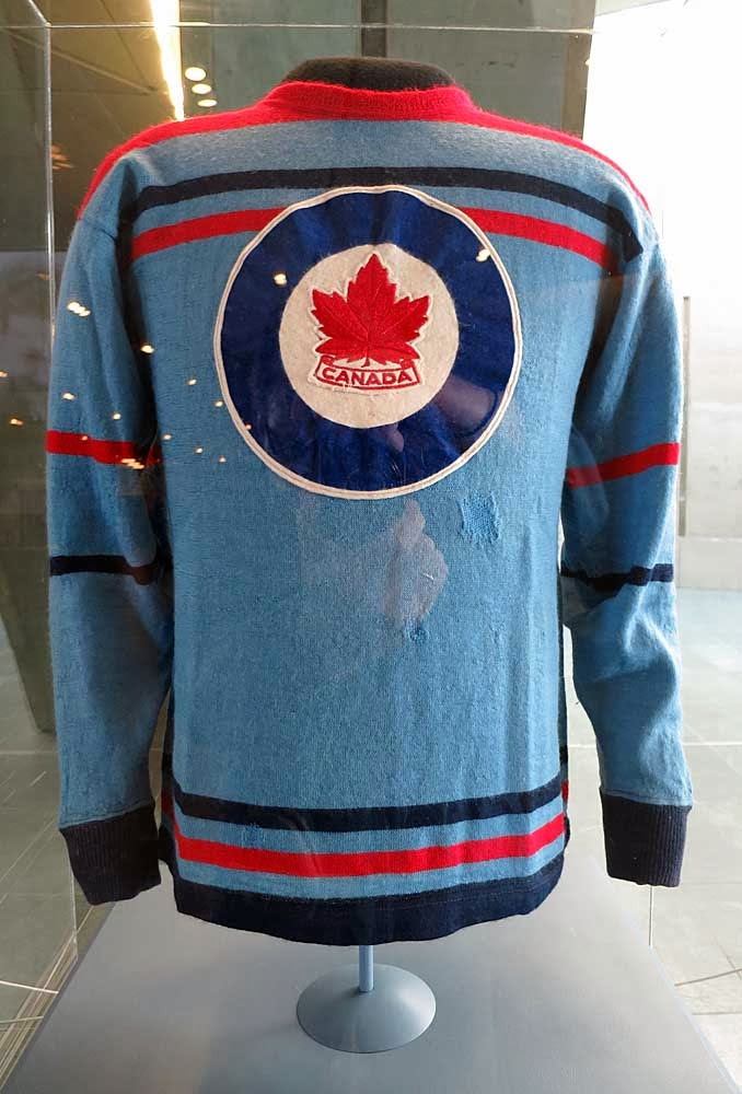 A piece of Canada s proud Olympic hockey history on display ... 9ef228125c0