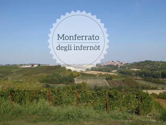 Il Monferrato degli infernòt e delle dolci colline: panorama