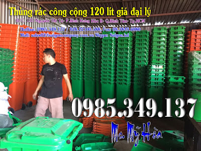 thùng rác-120l-rẻ