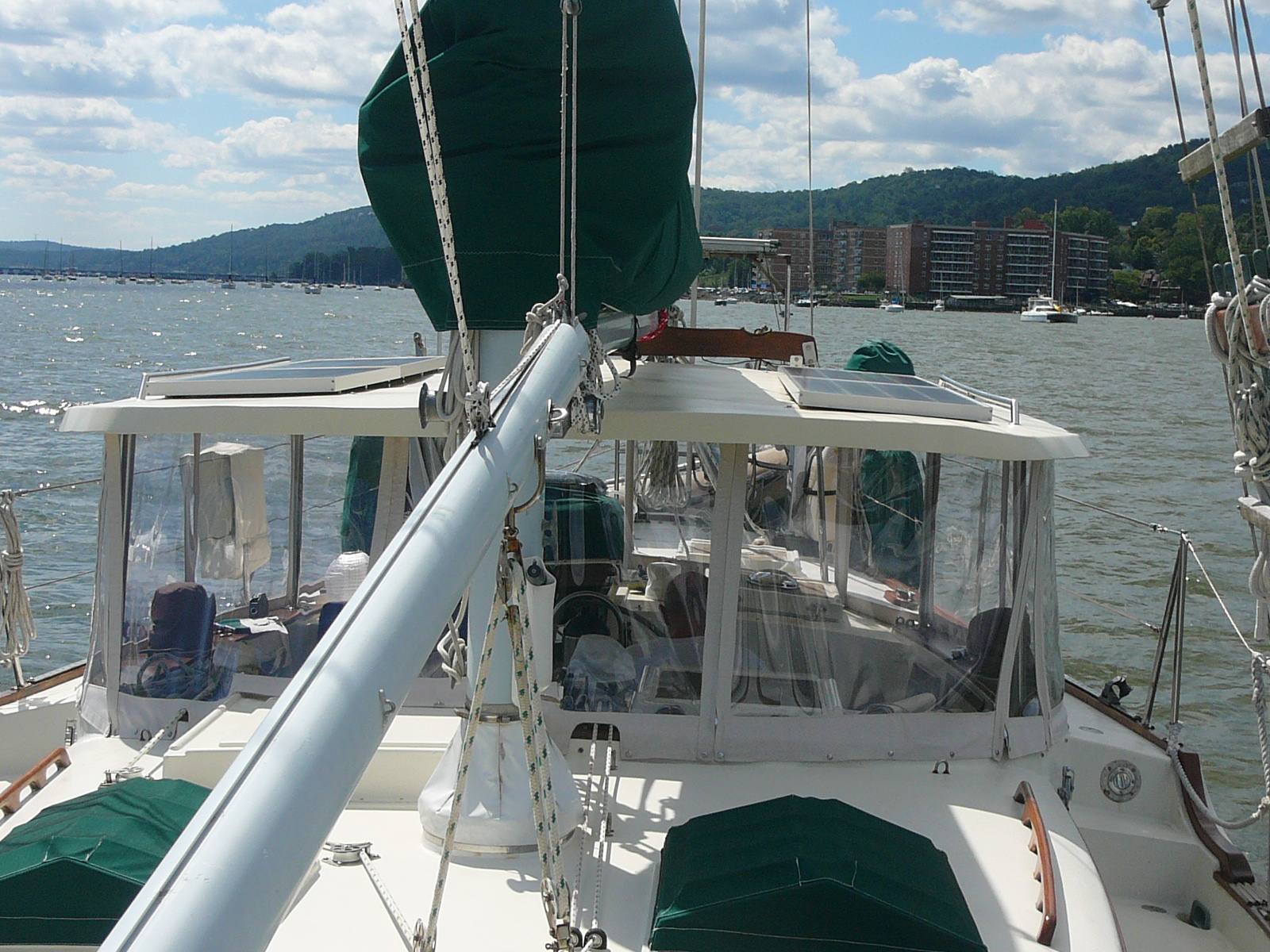 CSY Sailboats: Then and Now: Hard Top for Songbird