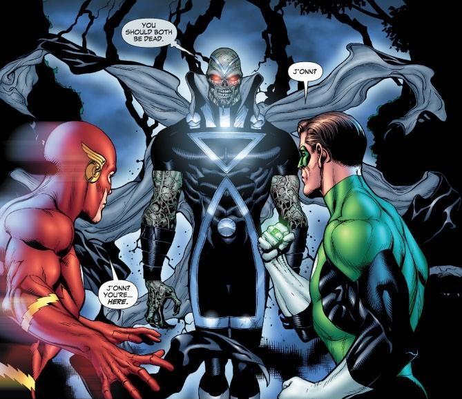 Comicsverse 101 martian manhunter definire i personaggi for Lanterne bianche