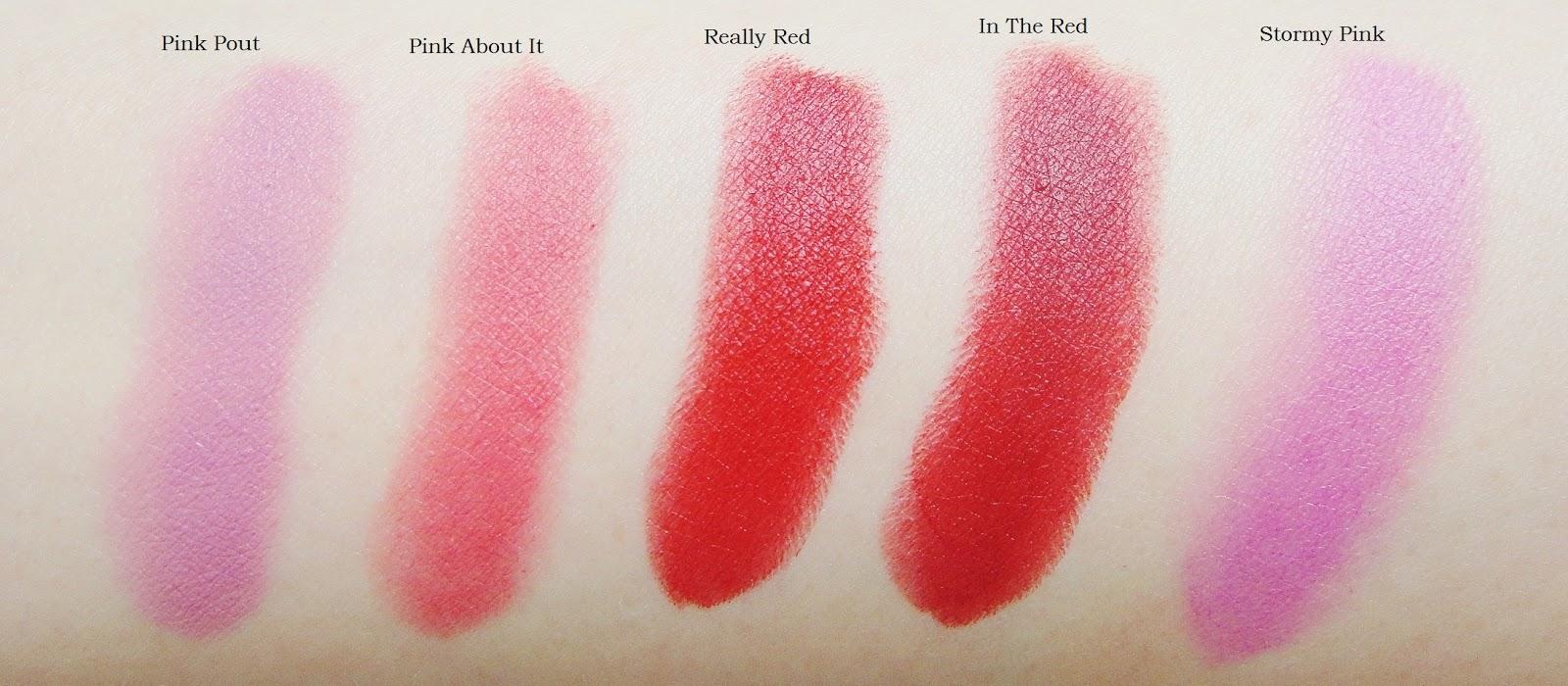 Collective Swatch - Revlon Super Lustrous Lipsticks